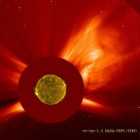 Sonneneruption 400x400